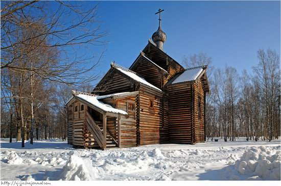 Wooden architecture museum. Novgorod oblast, Russia view 19