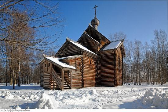 Wooden architecture museum. Novgorod oblast, Russia view 19