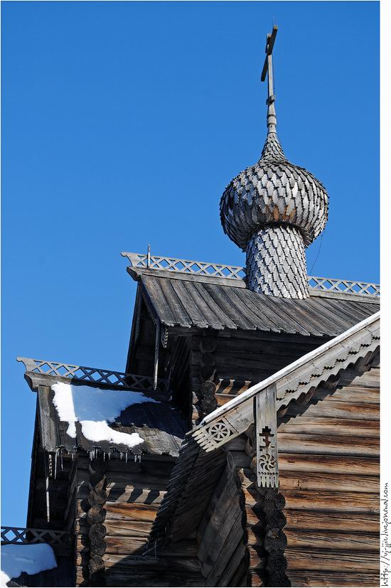 Wooden architecture museum. Novgorod oblast, Russia view 20