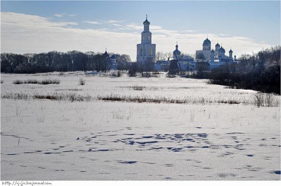Wooden architecture museum. Novgorod oblast, Russia view 24