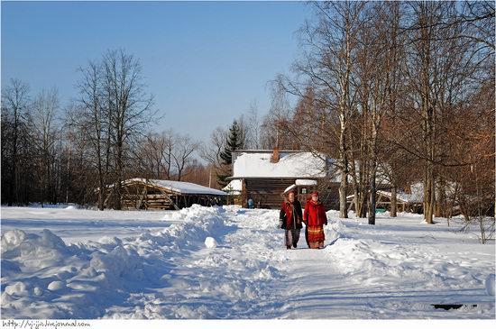 Wooden architecture museum. Novgorod oblast, Russia view 6