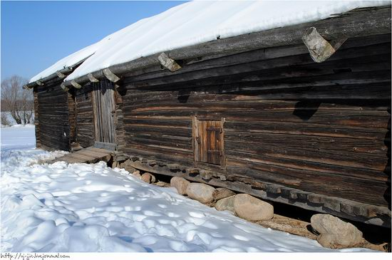 Wooden architecture museum. Novgorod oblast, Russia view 7
