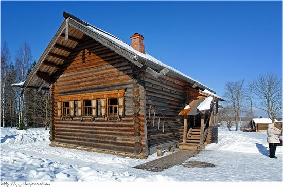 Wooden architecture museum. Novgorod oblast, Russia view 9