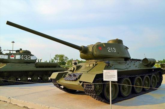 Military vehicles museum, Verkhnaya Pyshma, Russia photo 33