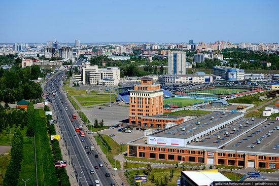 Summer Kazan city, Russia view 10