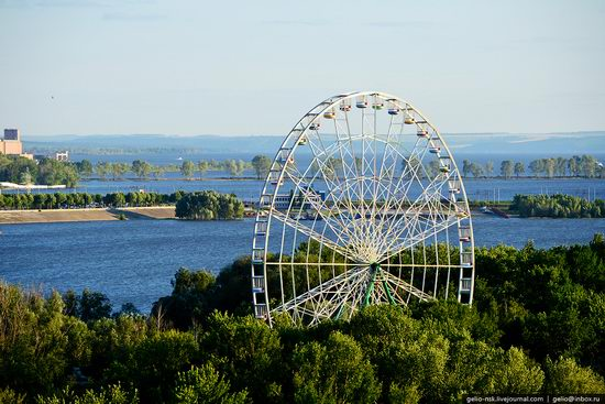 Summer Kazan city, Russia view 12