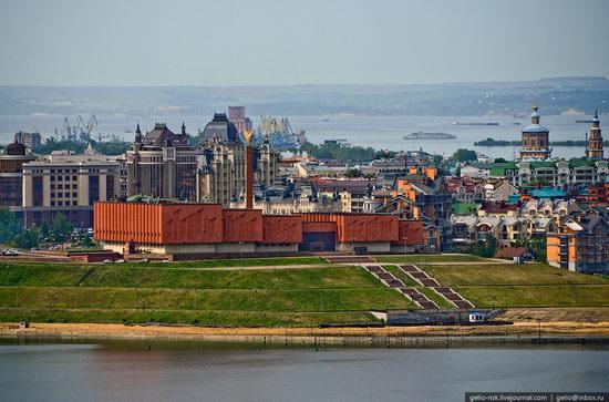 Summer Kazan city, Russia view 14