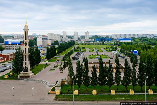 Summer Kazan city, Russia view 15