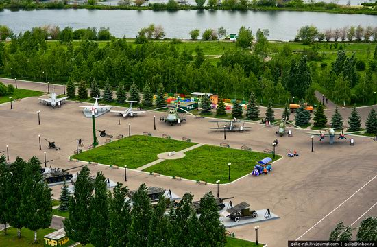 Summer Kazan city, Russia view 16