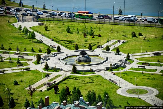 Summer Kazan city, Russia view 17