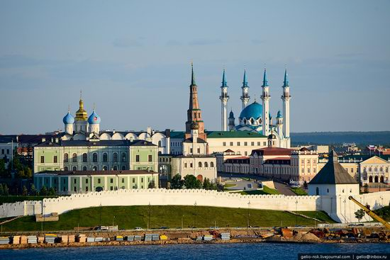 Summer Kazan city, Russia view 19