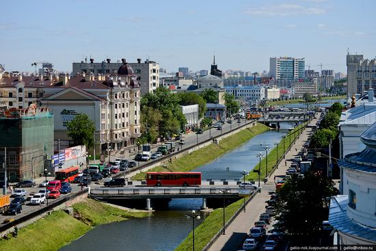 Summer Kazan city, Russia view 2