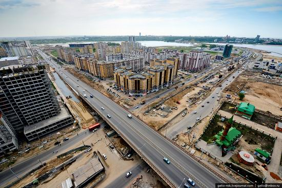 Summer Kazan city, Russia view 22
