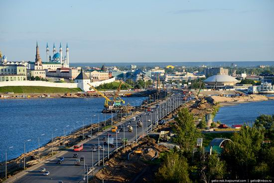 Summer Kazan city, Russia view 23