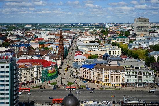 Summer Kazan city, Russia view 3