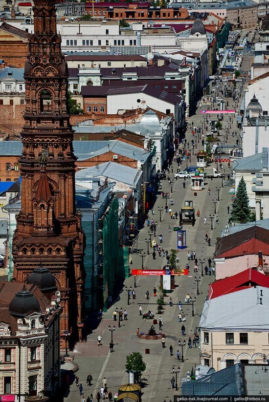 Summer Kazan city, Russia view 4