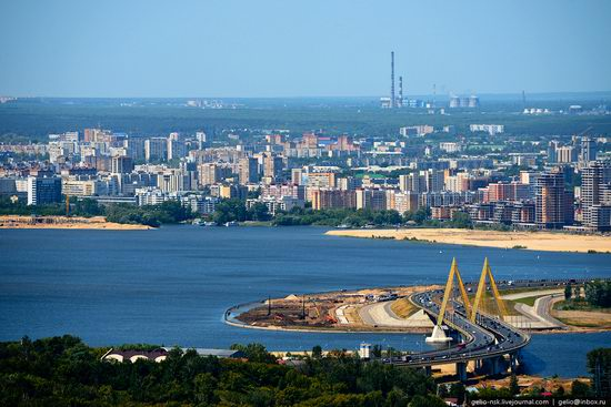 Summer Kazan city, Russia view 5