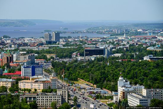 Summer Kazan city, Russia view 6