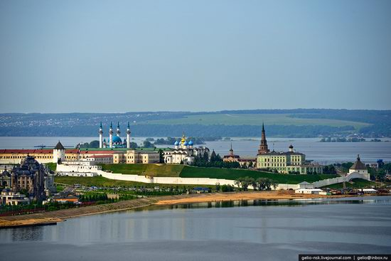 Summer Kazan city, Russia view 7