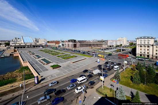 Summer Kazan city, Russia view 8