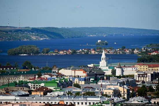 Summer Kazan city, Russia view 9