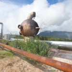 The first geothermal power plant in the USSR