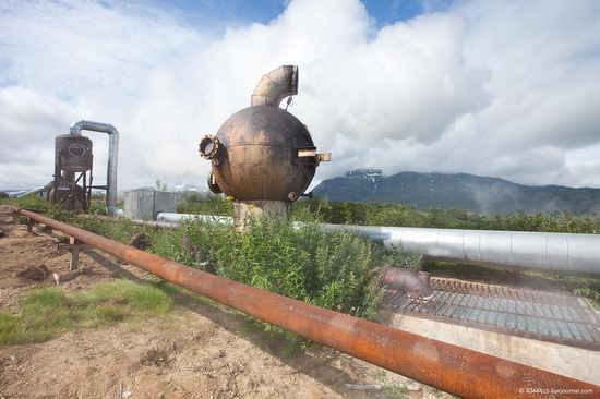 The first geothermal power plant in the USSR, Kamchatka, Russia photo 1