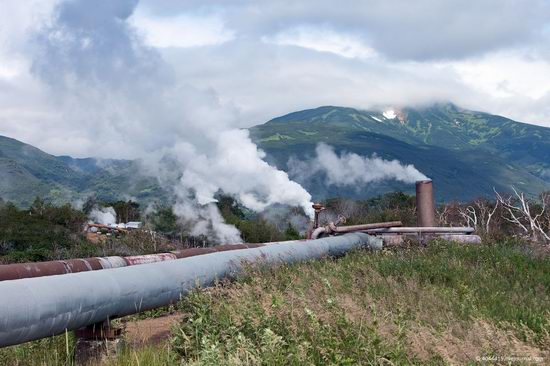 The first geothermal power plant in the USSR, Kamchatka, Russia photo 11