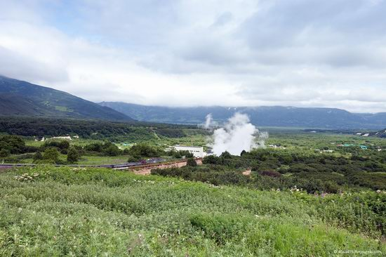 The first geothermal power plant in the USSR, Kamchatka, Russia photo 20