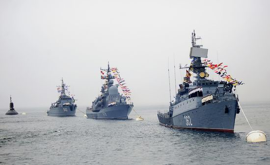 Navy Day celebrations, Vladivostok, Russia photo 1