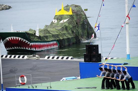 Navy Day celebrations, Vladivostok, Russia photo 17