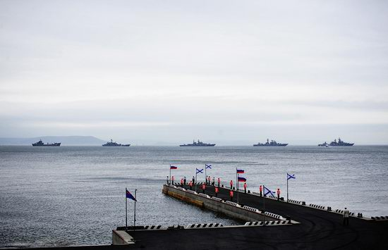 Navy Day celebrations, Vladivostok, Russia photo 2