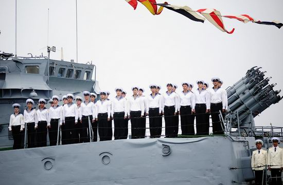 Navy Day celebrations, Vladivostok, Russia photo 4