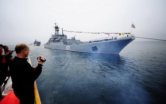 Navy Day celebrations, Vladivostok, Russia photo 6