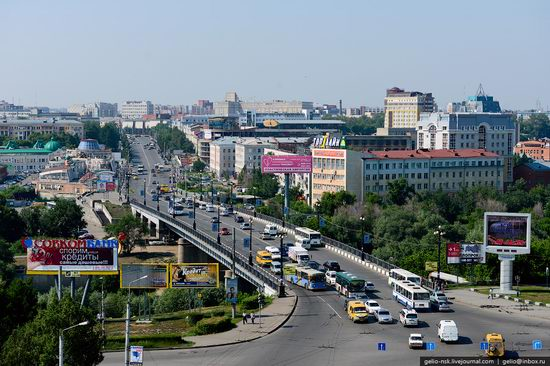 Omsk city, Russia from bird's eye view photo 10