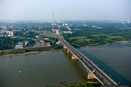 Omsk city, Russia from bird's eye view photo 12