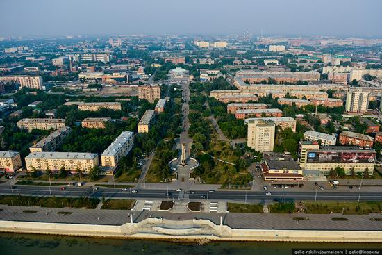 Omsk city, Russia from bird's eye view photo 14