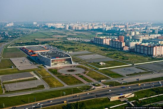 Omsk city, Russia from bird's eye view photo 16