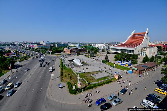 Omsk city, Russia from bird's eye view photo 4