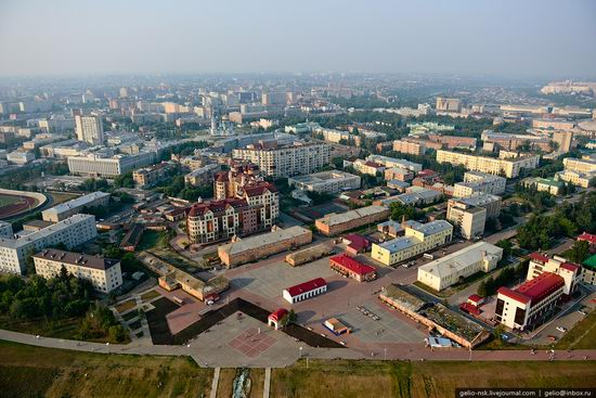 Omsk city, Russia from bird's eye view photo 7