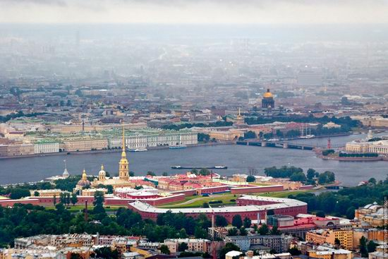 Saint Petersburg view from the TV tower photo 10