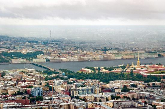 Saint Petersburg view from the TV tower photo 11