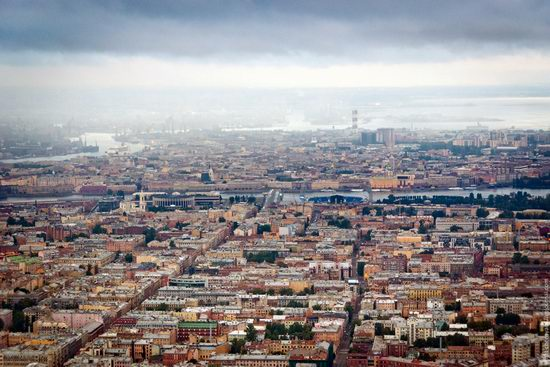 Saint Petersburg view from the TV tower photo 13