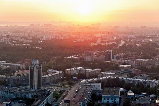 Saint Petersburg view from the TV tower photo 4