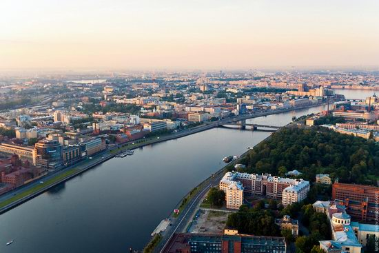 Saint Petersburg view from the TV tower photo 6