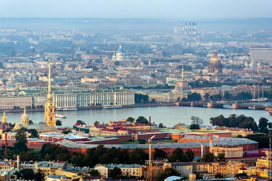 Saint Petersburg view from the TV tower photo 7