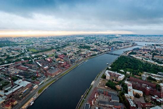 Saint Petersburg view from the TV tower photo 9