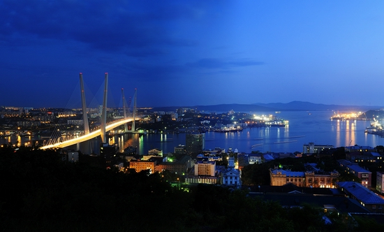 Zolotoy Rog Bay bridge, Vladivostok, Russia photo 3