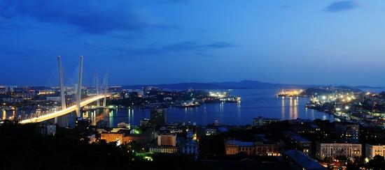 Zolotoy Rog Bay bridge, Vladivostok, Russia photo 4