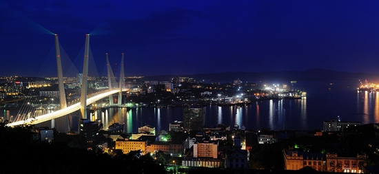 Zolotoy Rog Bay bridge, Vladivostok, Russia photo 5